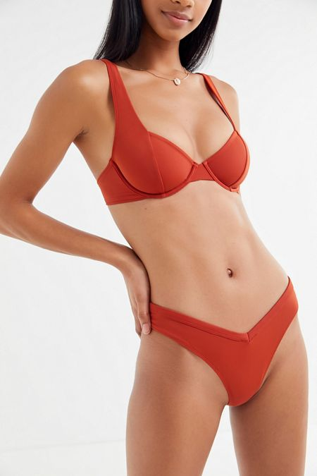 5409da1a484 Out From Under V-Shape Bikini Bottom. Quick Shop