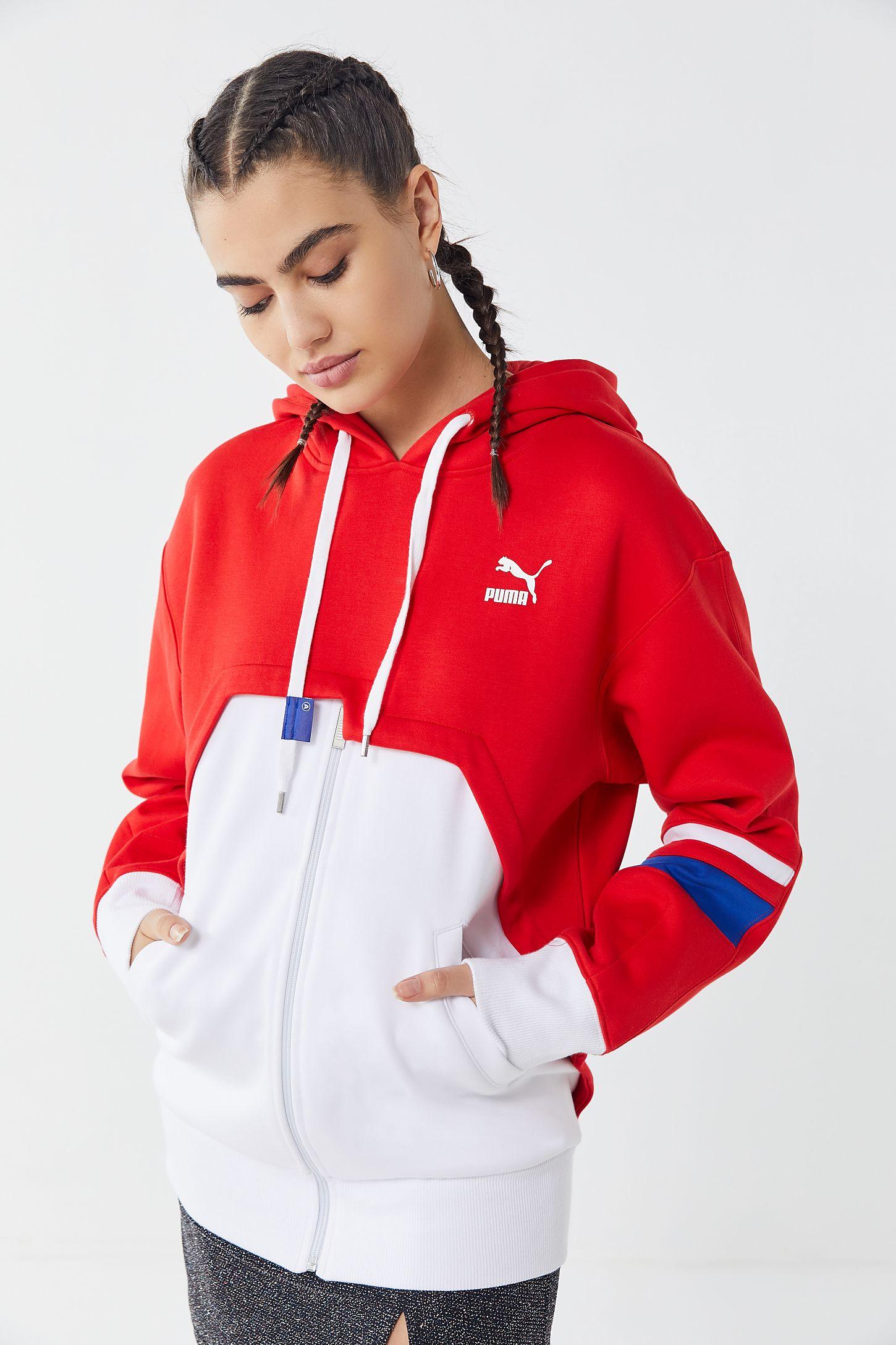 cf5e78a6ad Puma X Ader Error Zip-Up Hoodie Sweatshirt