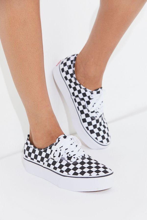e8558b7ac7 Slide View  2  Vans Authentic Platform 2.0 Checkerboard Sneaker