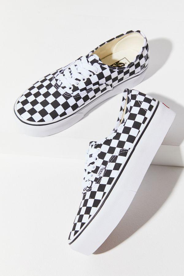 ad3f6d46cc Slide View  4  Vans Authentic Platform 2.0 Checkerboard Sneaker