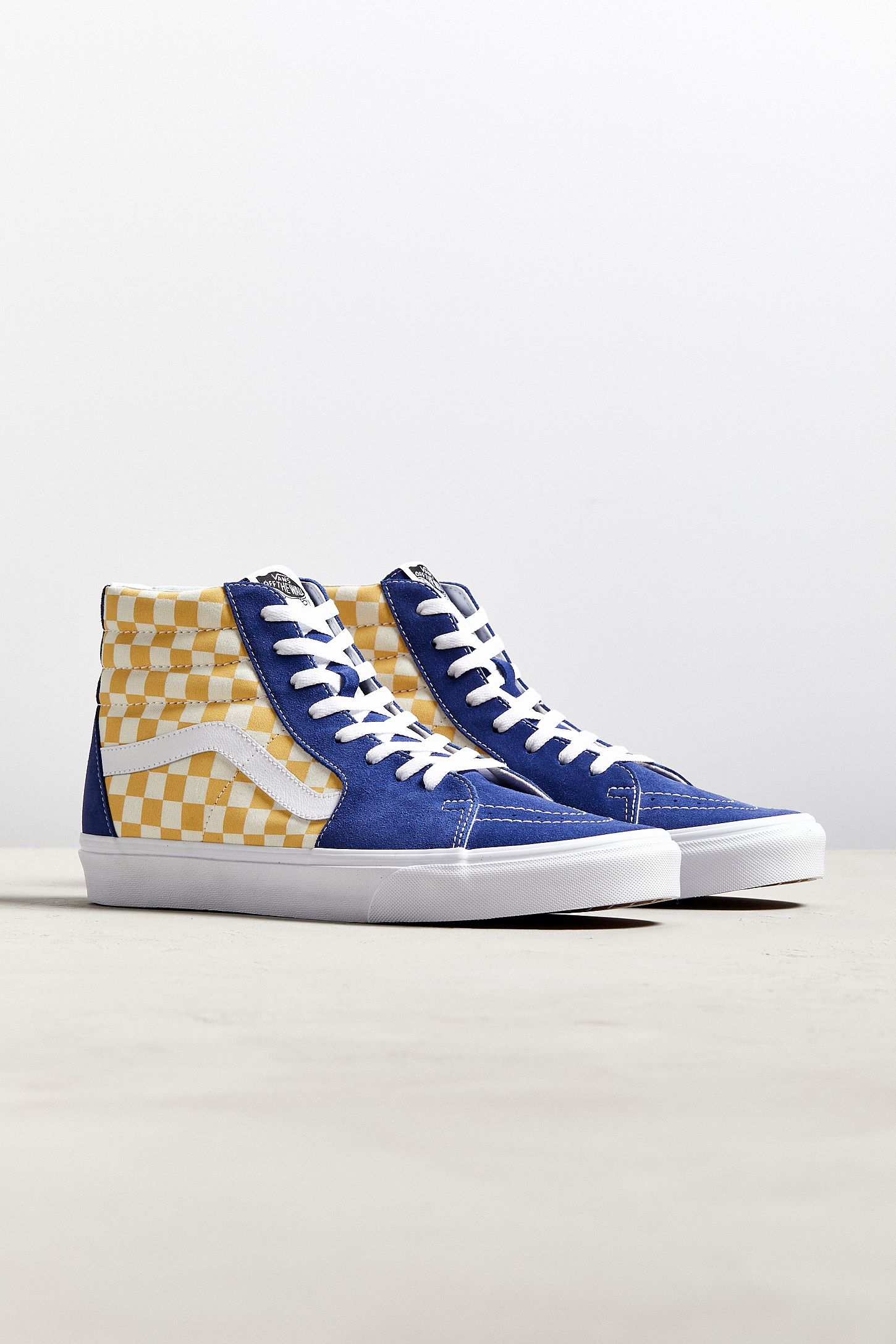 Vans Sk8 Hi BMX Checkerboard Sneaker Urban Outfitters  Urban Outfitters