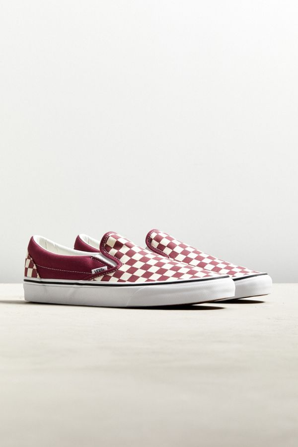 c198d8993148 Vans Classic Colorful Checkerboard Slip-On Sneaker