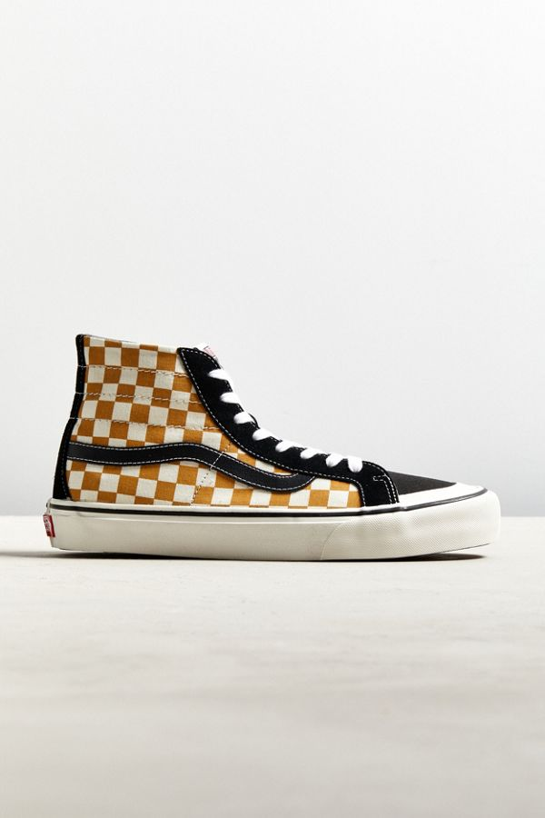 91e6519421 Vans Checkerboard Sk8-Hi 138 Decon SF Sneaker