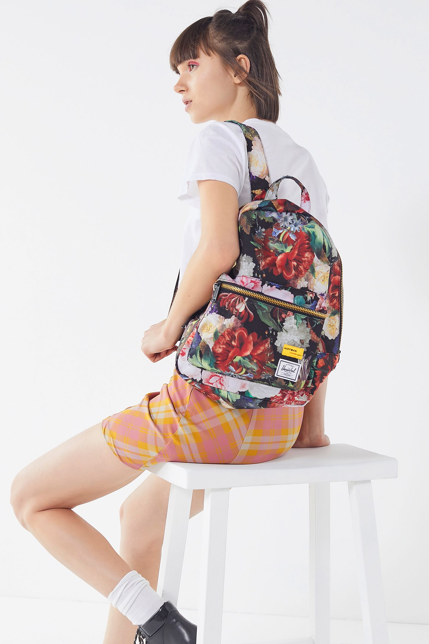 7fa9e27d3c3 Herschel Supply Co. X Hoffman California Fabrics Grove XS Backpack ...