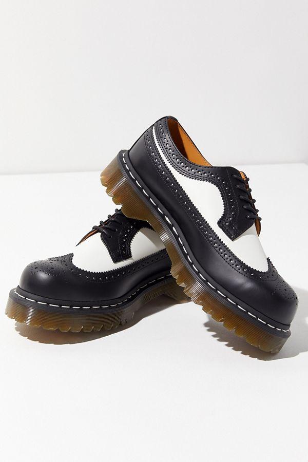 Chaussures Dr. Martens 3989 Brogue Bex Sole Homme Noir