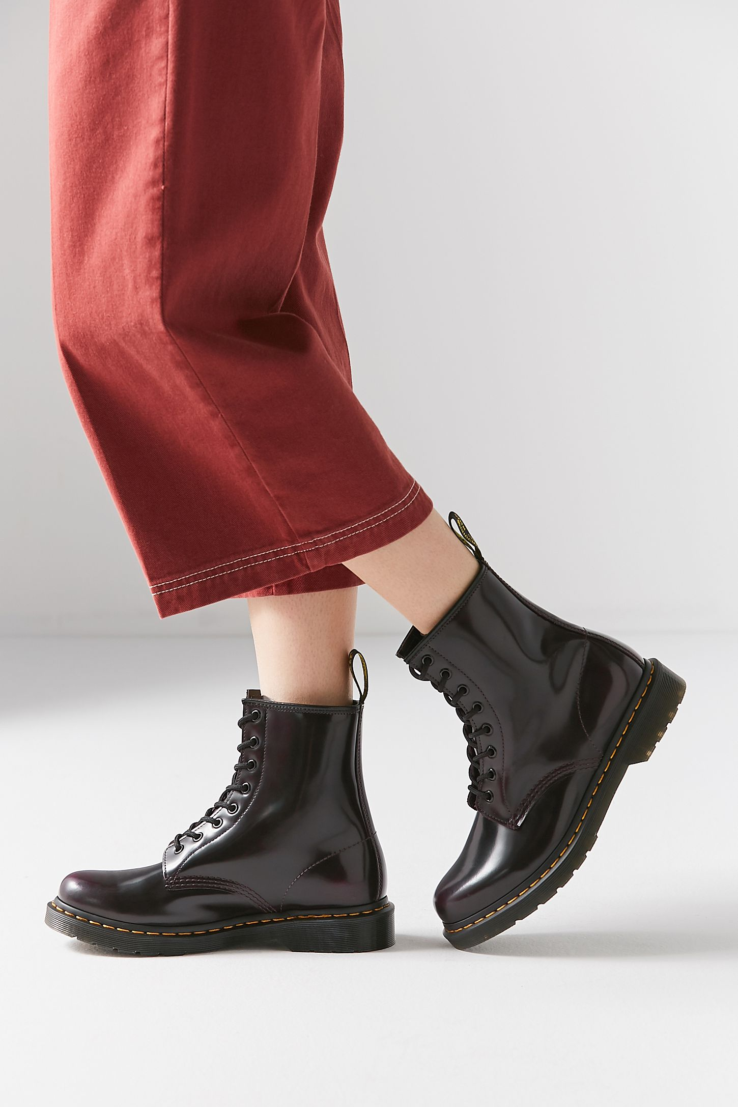 5b1f897e4b7 Dr. Martens 1460 Smooth Cherry Boot