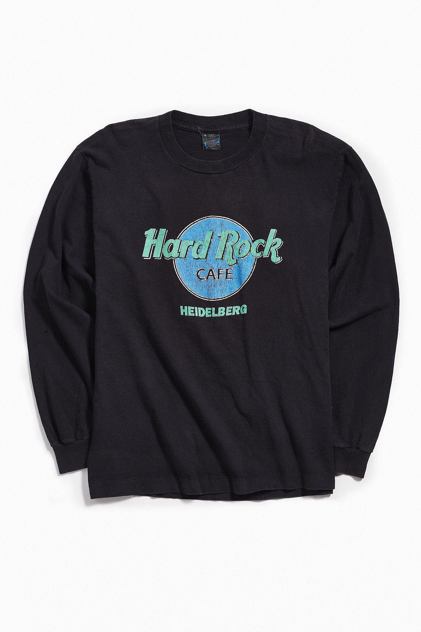 b37c8ea0b408aa Vintage Hard Rock Cafe Long Sleeve Tee