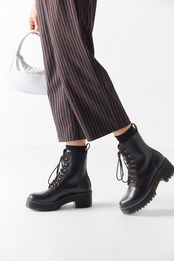 0c7ac3ca8bab Dr. Martens Leona Vintage Smooth Boot