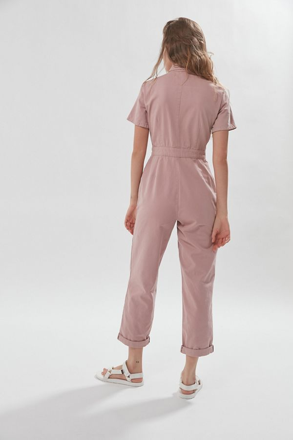 UO Canvas Flight Jumpsuit   Urban Outfitters