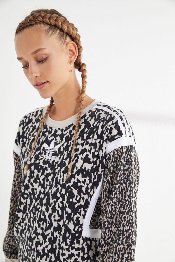 9e7c44a0323 adidas Originals Leoflage Sweatshirt | Urban Outfitters