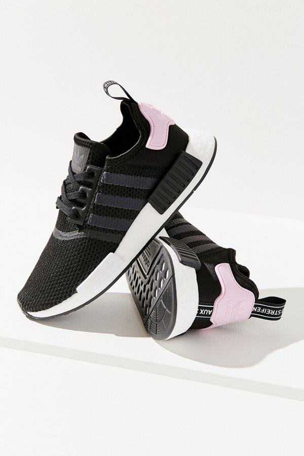 adidas originals nmd r1 sneaker schwarz grün