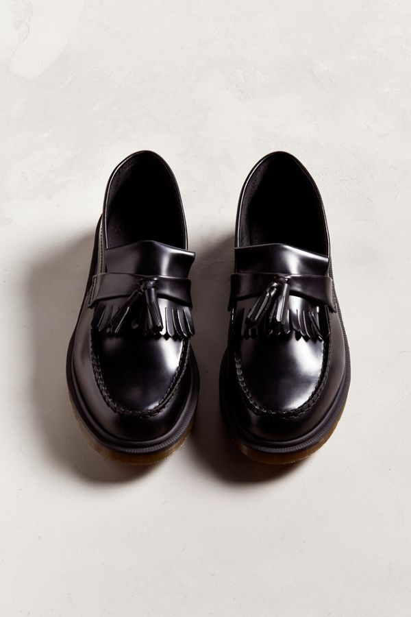 retail prices a few days away closer at Dr. Martens Adrian Tassel Loafer | Urban Outfitters