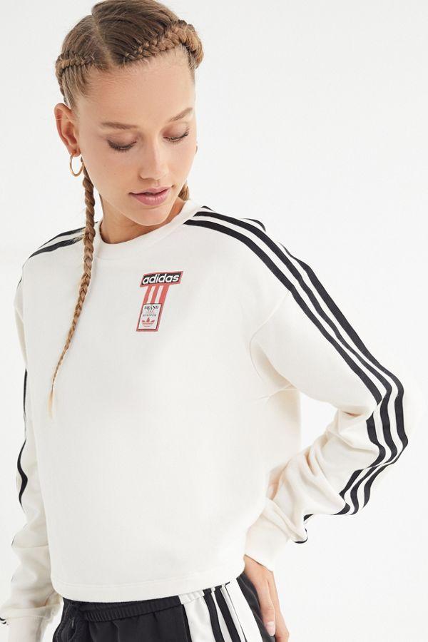 fe01736c3c34 adidas Adibreak Cropped Sweatshirt