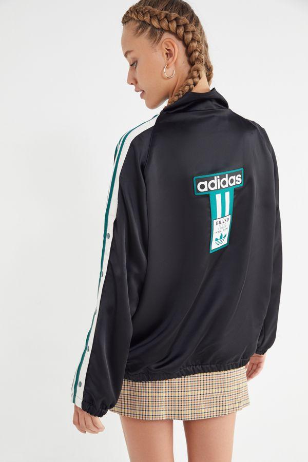 a2dcf3d3cd6c adidas Originals Adibreak Satin Track Jacket | Urban Outfitters
