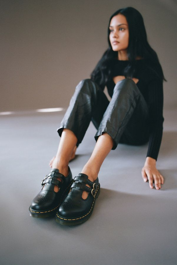d522d08d9c0c Dr. Martens 8065 Leather Mary Jane Shoe | Urban Outfitters