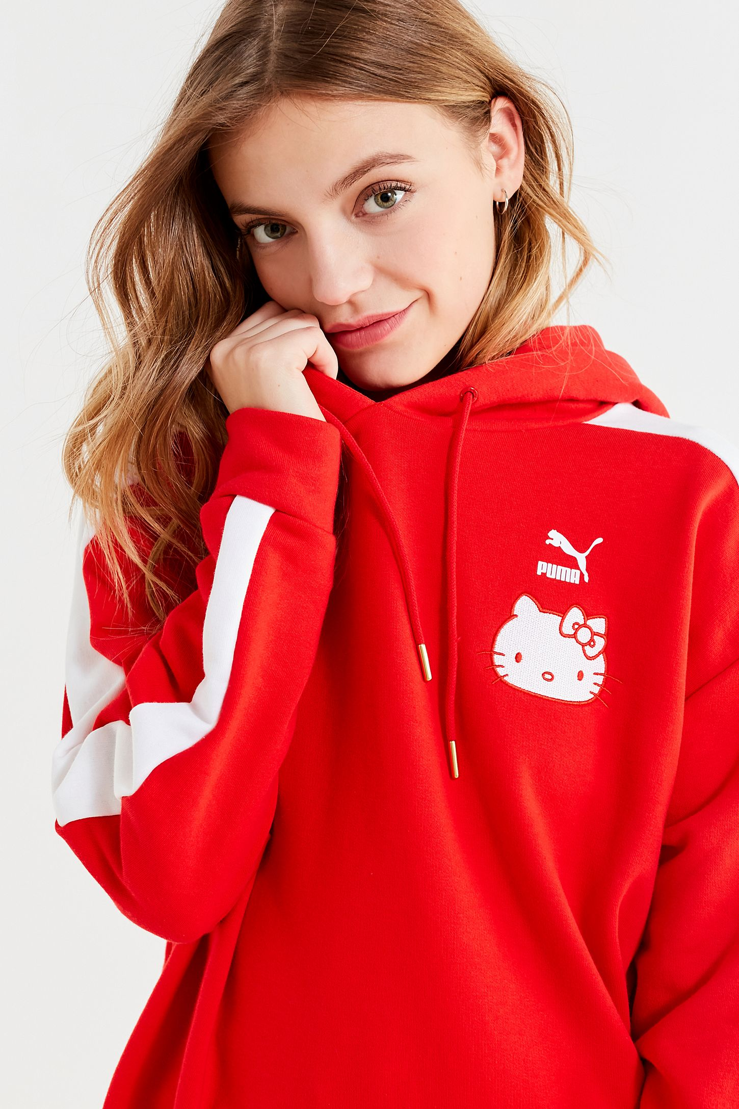 409b879de0cafc Puma X Hello Kitty Hoodie Sweatshirt