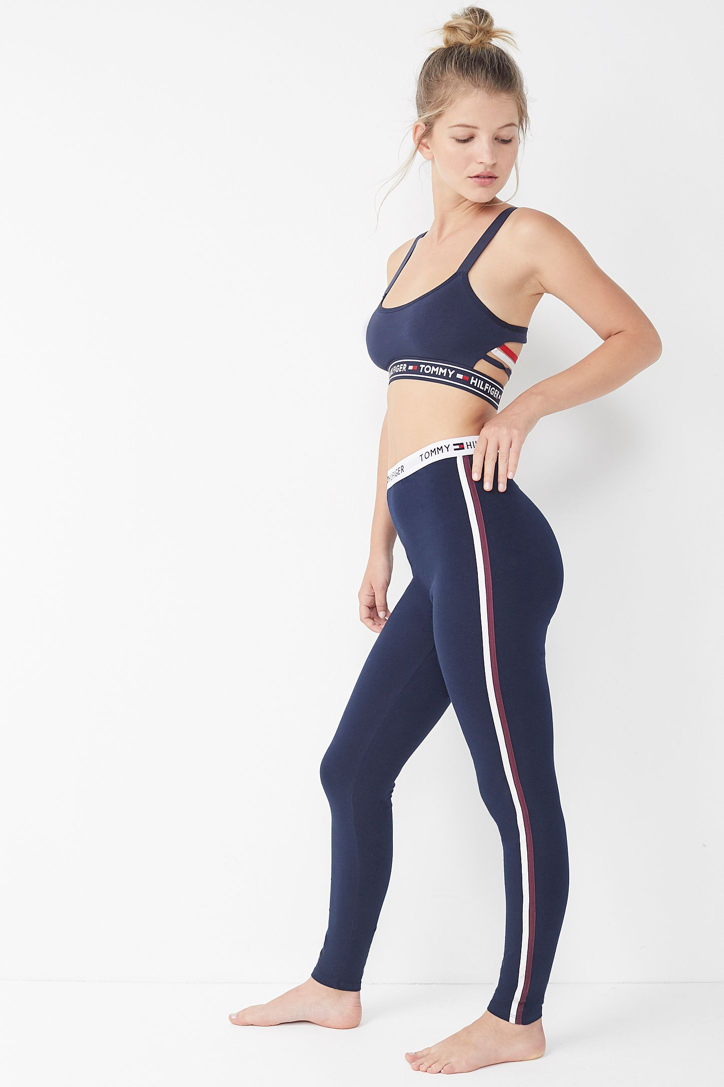 e56403e2 Tommy Hilfiger Side Stripe Legging Lounge Pant | Urban Outfitters