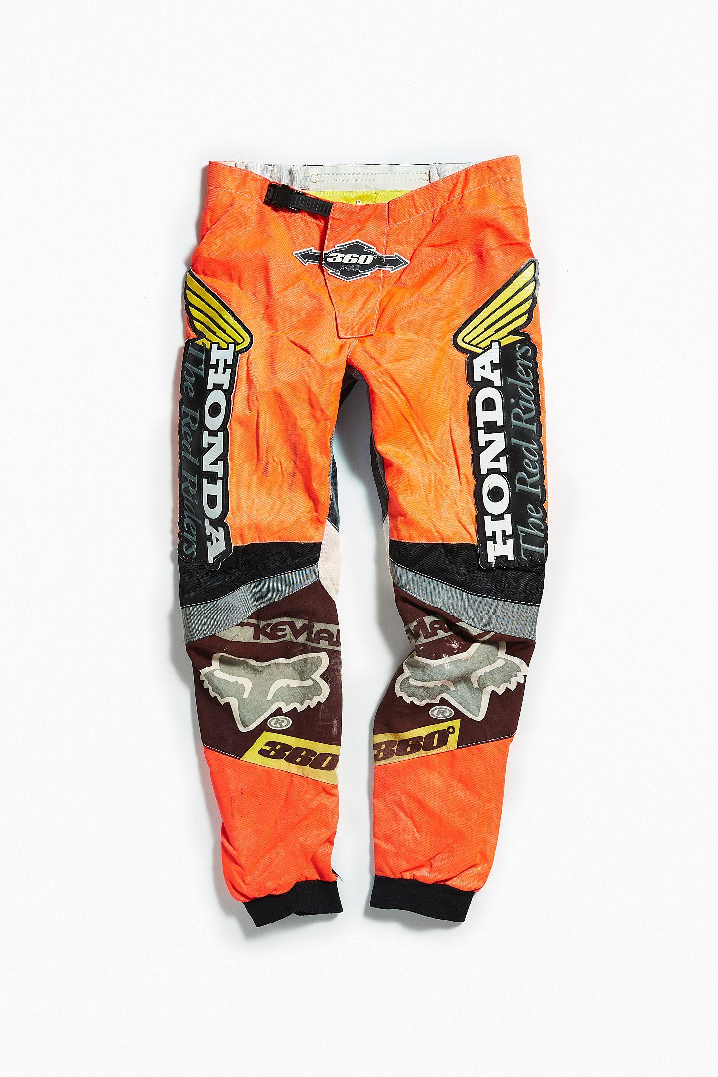 763311d8e6e0c Vintage Honda Racing Orange Moto Pant | Urban Outfitters Canada