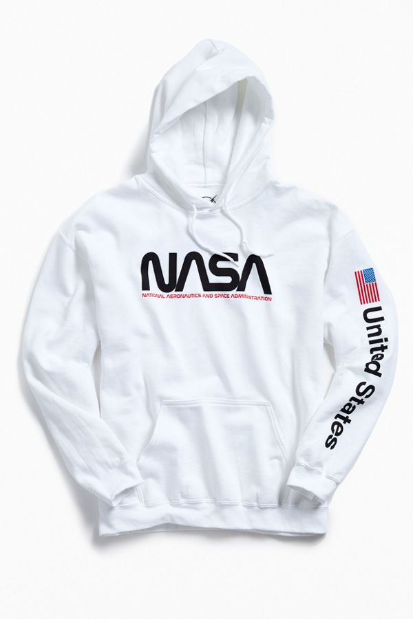 Slide View  1  NASA Hoodie Sweatshirt fbe7e91f6de46
