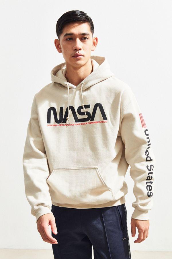 classic fit d74b4 89760 NASA Hoodie Sweatshirt