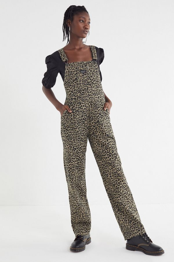 c7f1cfd96e2 OBEY Casbah Animal Print Overall
