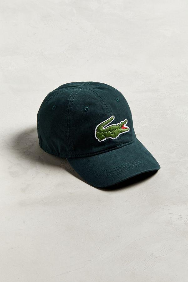 80440f7852f Lacoste Big Croc Gabardine Hat