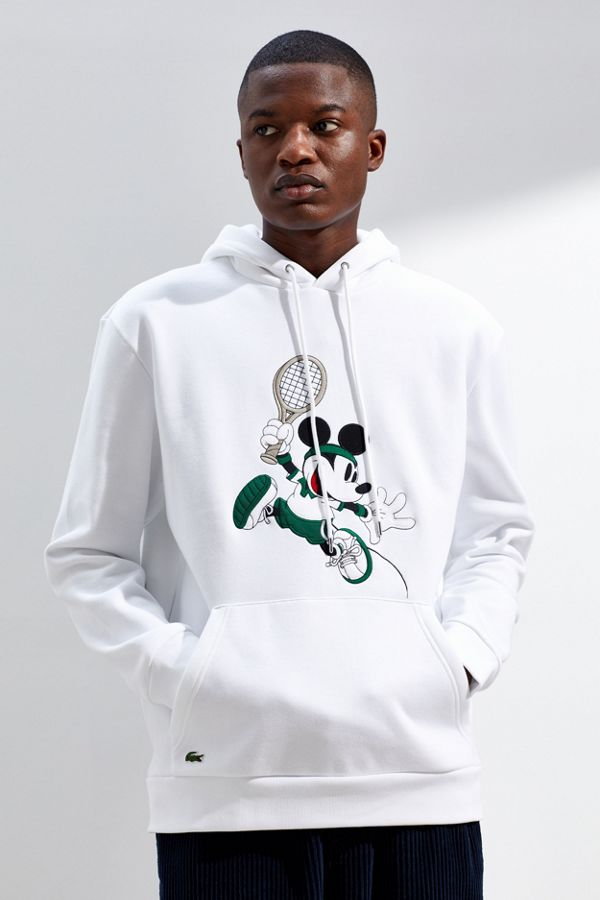 1ad9dbac3ef Lacoste Mickey Mouse Hoodie Sweatshirt | Urban Outfitters