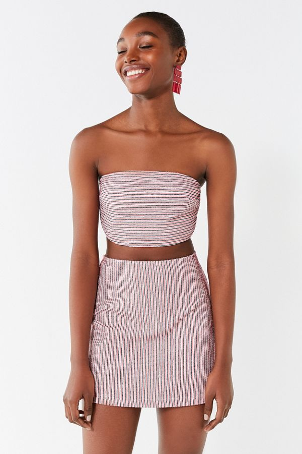 6593cfad6c0aa Your Urban Outfitters Gallery. UO Lana Striped Bodycon Skirt