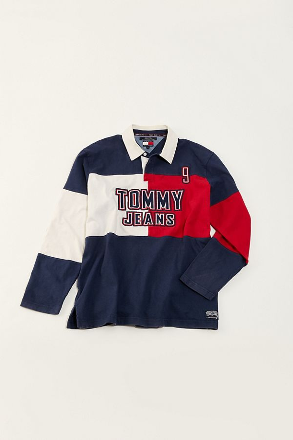 0aa2a30aed5 Vintage Tommy Hilfiger '90s Rugby Shirt | Urban Outfitters