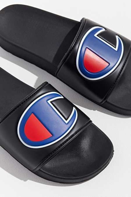 Champion Big Logo Slide Sandal