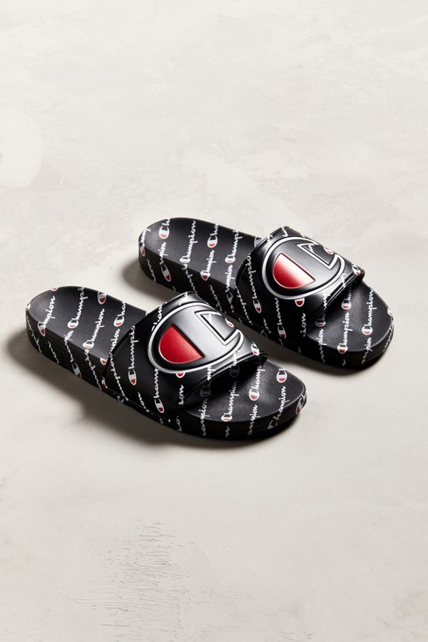 817d21be1 Slide View  1  Champion Big Logo Monogram Slide Sandal