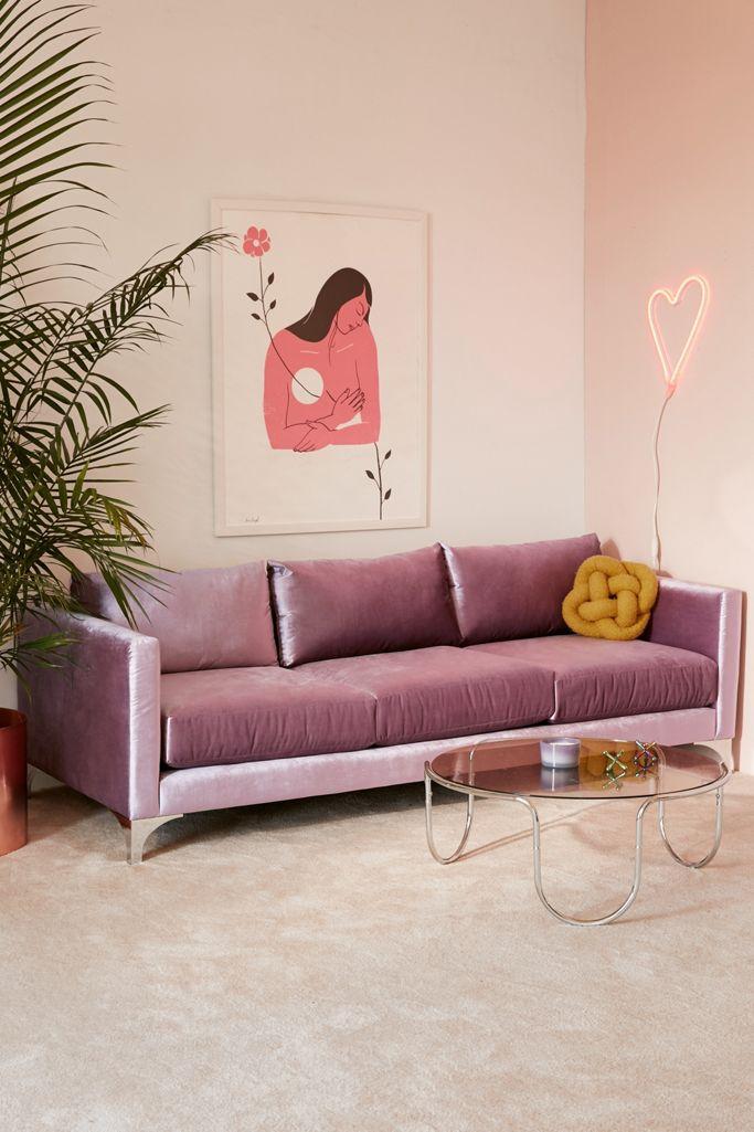 Chamberlin Velvet Sofa Urban Outers