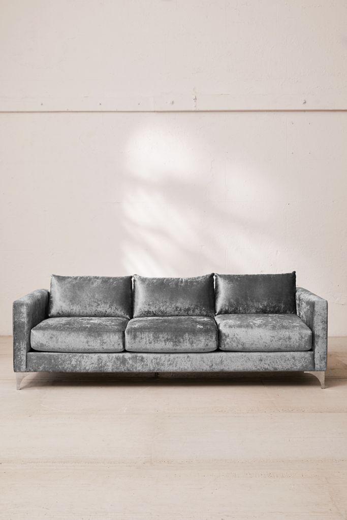 Chamberlin Crushed Velvet Sofa Urban