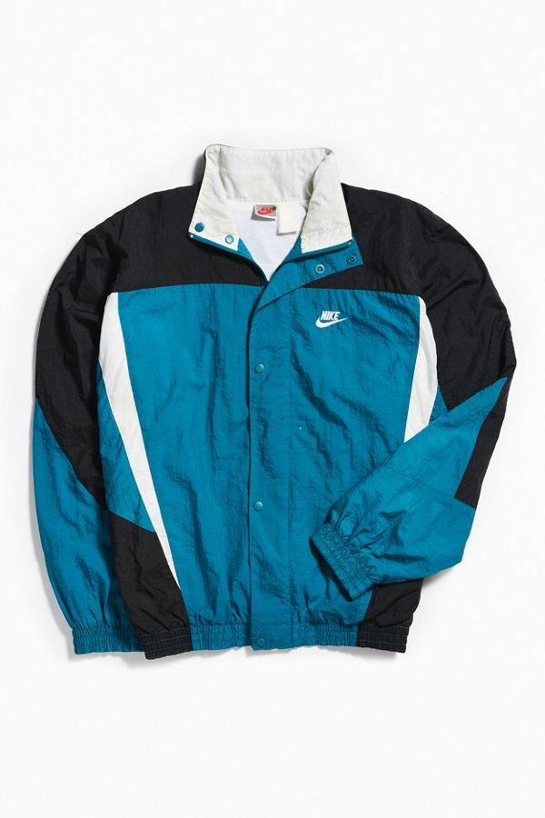 Vintage Nike Blue Windbreaker Jacket