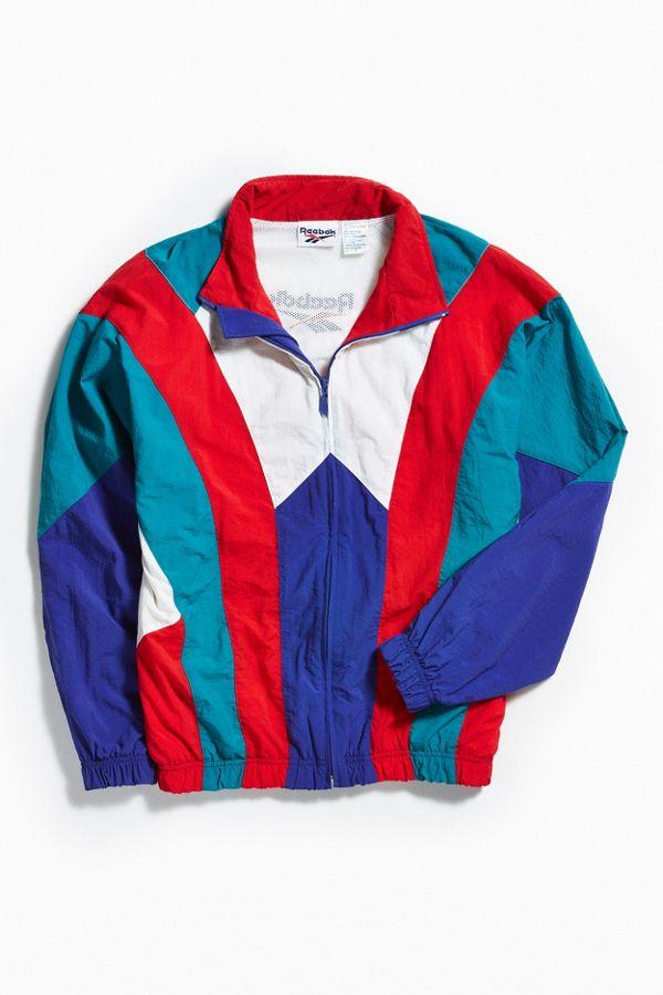 41f95359b0e84 Vintage Reebok Windbreaker Jacket