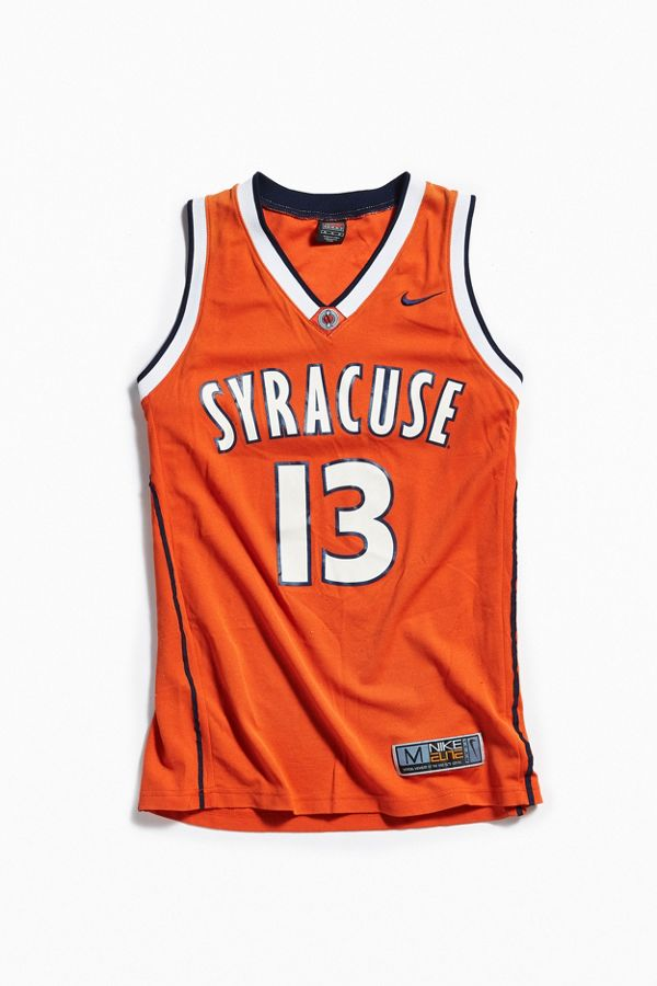 pretty nice 2f25a 0b37b Vintage Nike Syracuse University Basketball Jersey