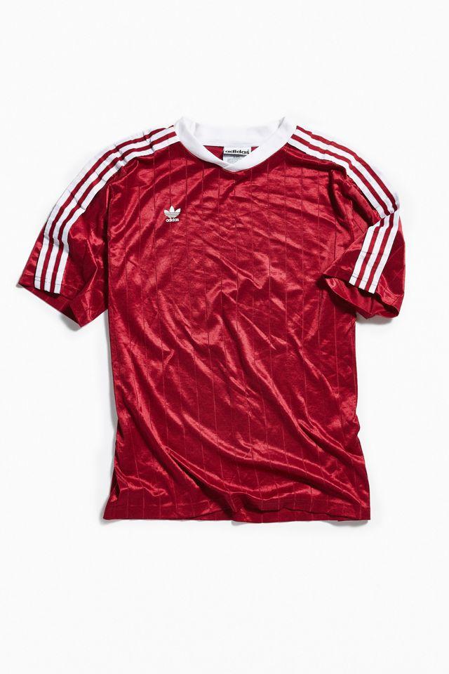 Vintage adidas Burgundy Soccer Jersey