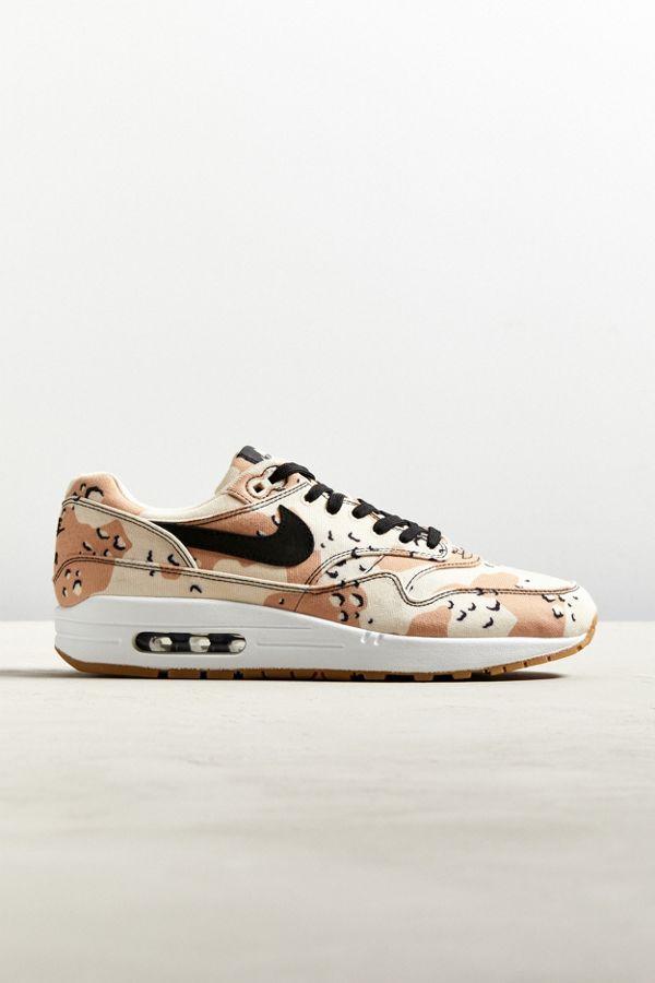 e24e0b27805b Nike Air Max 1 Premium Camo Canvas Sneaker