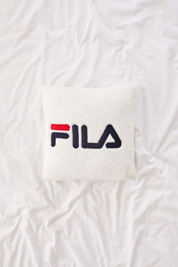 7b596a34703b FILA UO Exclusive Sherpa Throw Pillow