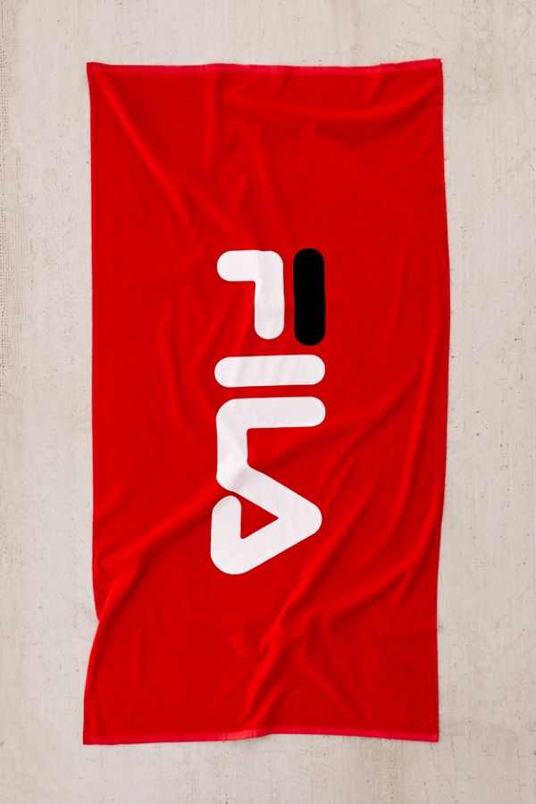 e004f798f726 FILA UO Exclusive Logo Beach Towel