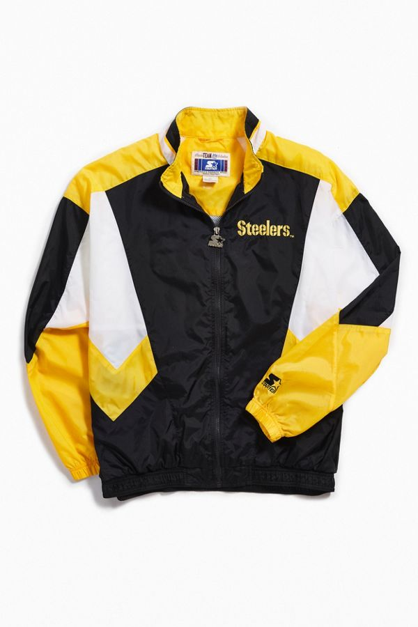save off bc72a 36f5b Vintage Starter Pittsburgh Steelers Coach Jacket