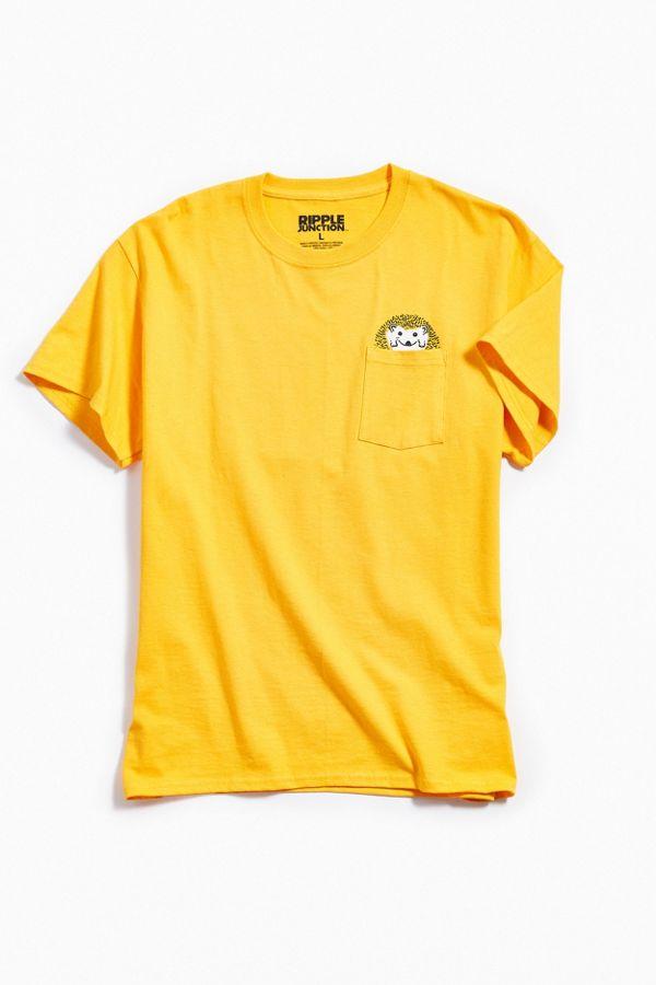 664b2693 Hedgehog Pocket Tee   Urban Outfitters