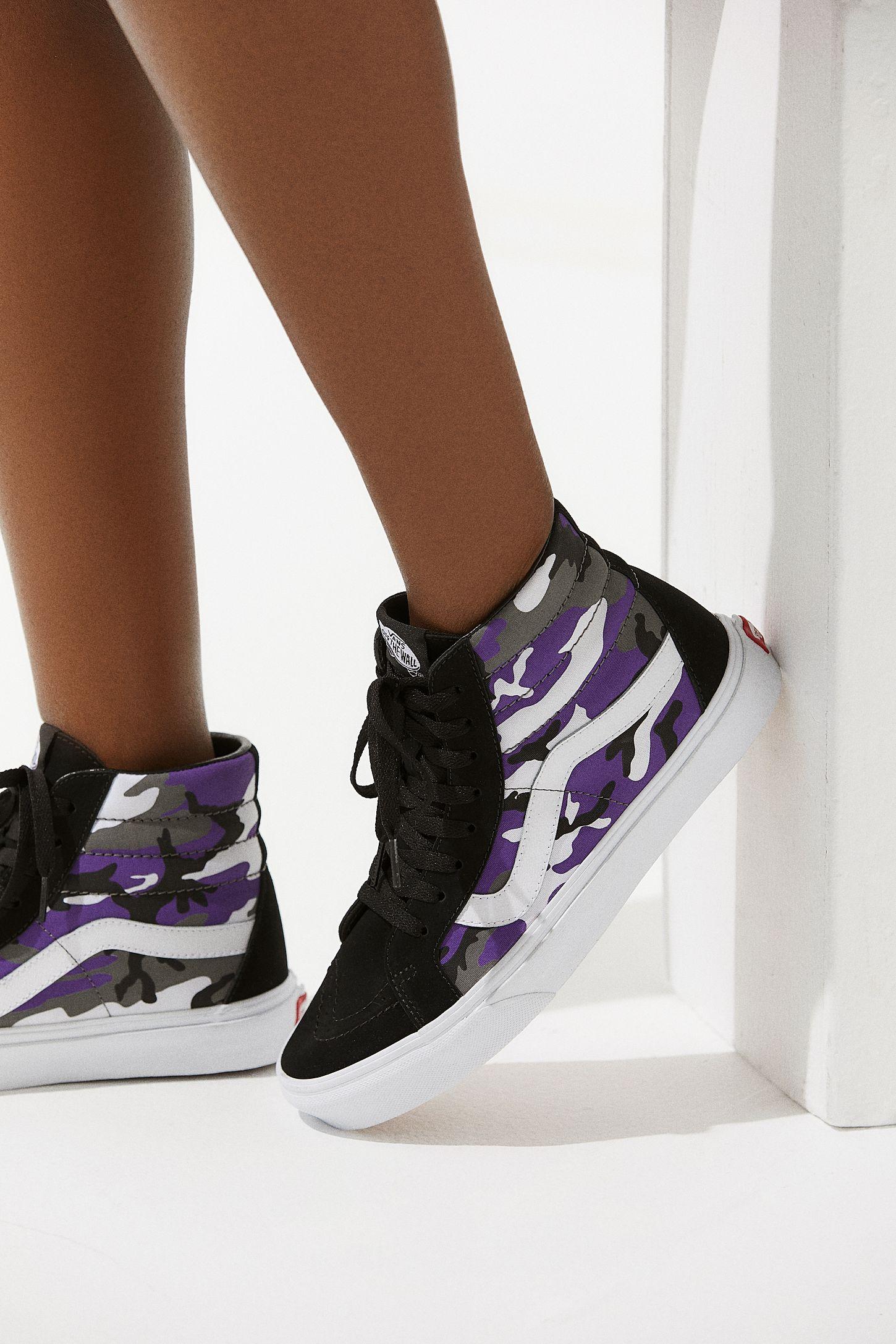 a28bebbe718fa Vans Sk8-Hi Pop Camo Sneaker