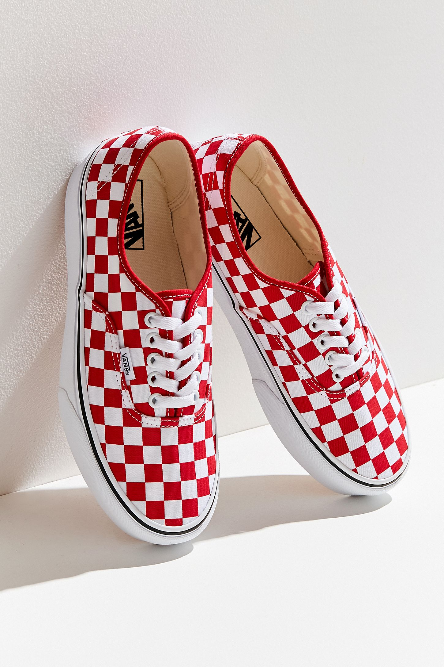 Vans Authentic Platform Checkerboard Sneaker