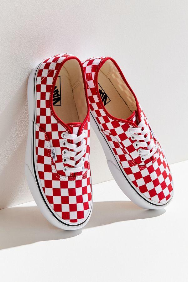 b2c30254c8 Vans Authentic Platform Checkerboard Sneaker