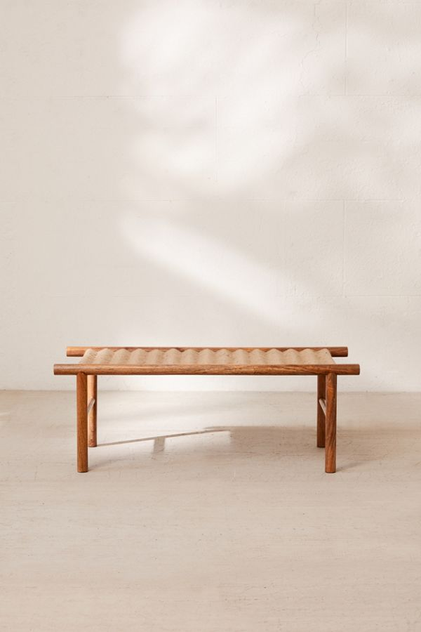Prime Woven Bench Gmtry Best Dining Table And Chair Ideas Images Gmtryco
