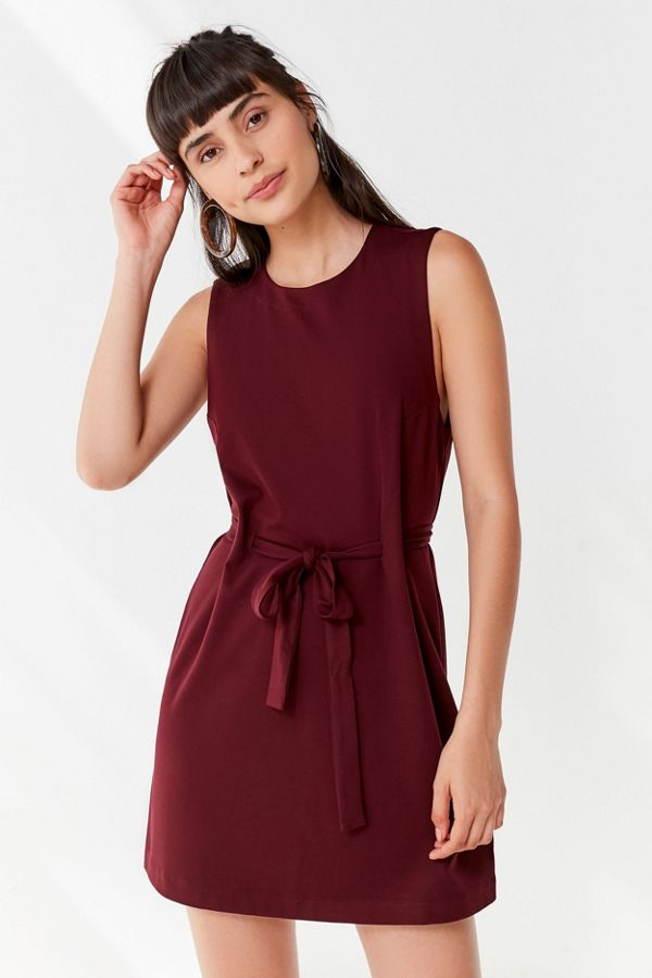 652f39186167 UO Penny Belted Mini Dress