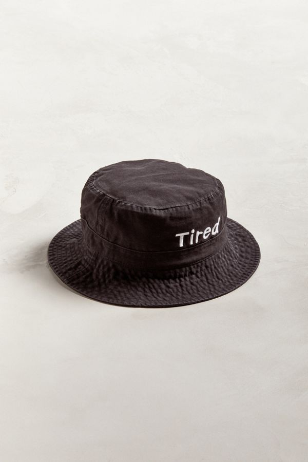 16c6f74e578 Tired Simple Bucket Hat