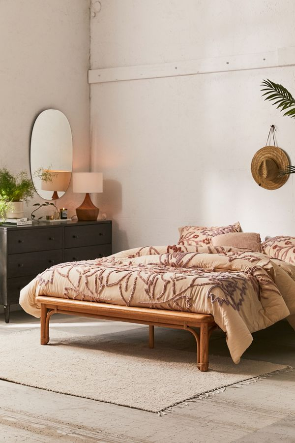 Wren Rattan Bed Urban Outfitters