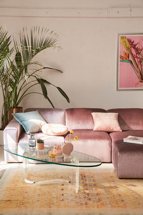 Modular Velvet Sofa Urban Outers
